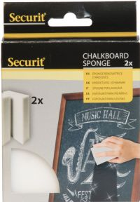Securit Chalkboard Magic Cleaning Sponge Set of 2